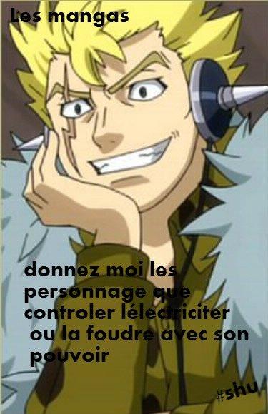 personnage electrique