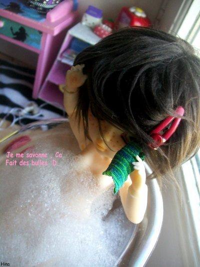 ~ Premier bain de Hasalia :D ~
