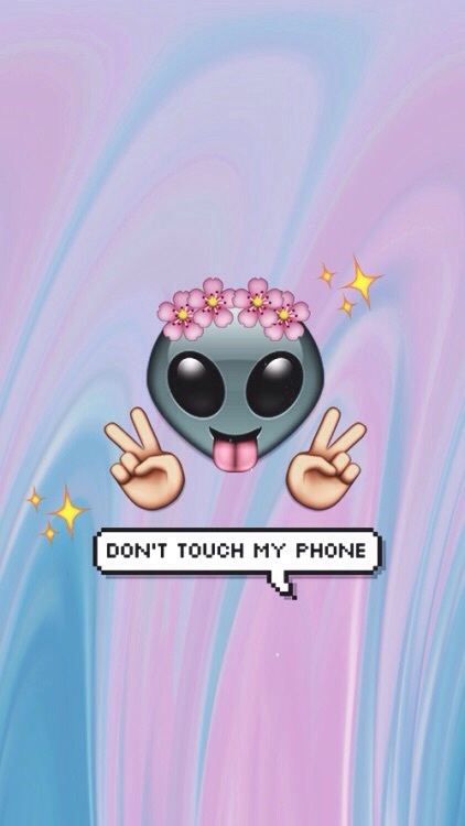 DON'T TOUCH M PHONE