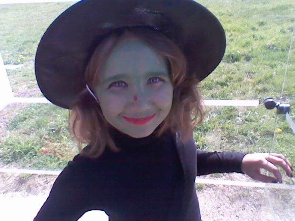 ma fille en sorciere