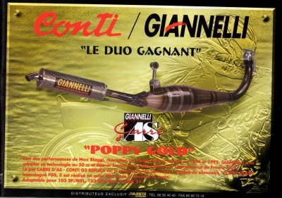 Giannelli Poppy Gold