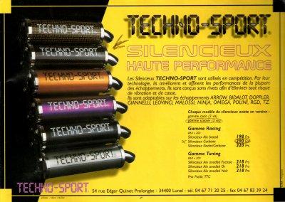 Silencieux Techno-sport