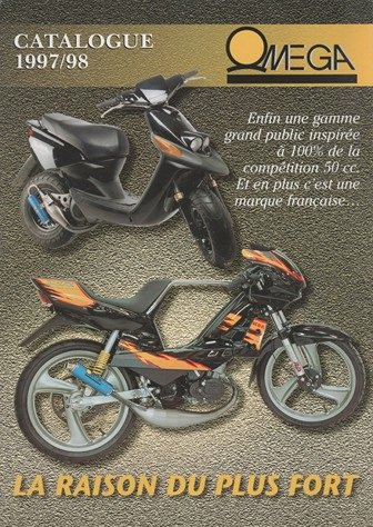 Couverture catalogue Omega 1997/1998