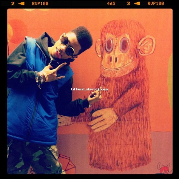 Happy Birthday Lil Twist 19 ans aujourd'hui!! ,Turnt Up + quelques photos