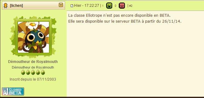 A moi la BETA (Première partie)