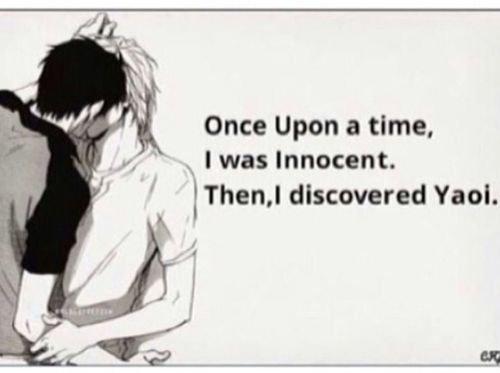 Il y a longtemps, j'était innocente. Puis, j'ai découvert le Yaoi...