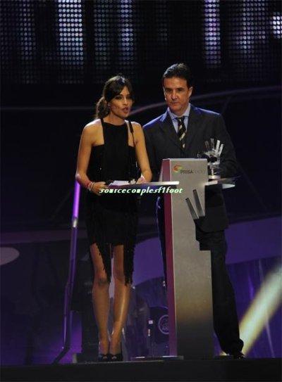 Football : Iker & Sara : Présentatrice du Gale de Los 40 Principales