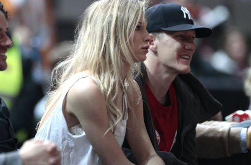 Football : Bastian Schweinsteiger et sa compagne : Sarah