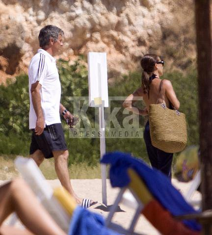 Football : Mourinho en vacances.