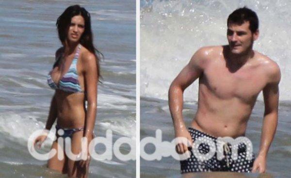 Football : Iker Casillas & Sara Carbonero : En vacances au Mexique & Chili