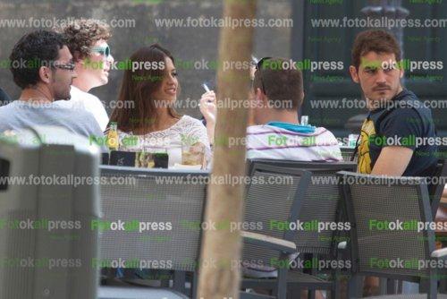 Football : Sara & Iker au restaurant.
