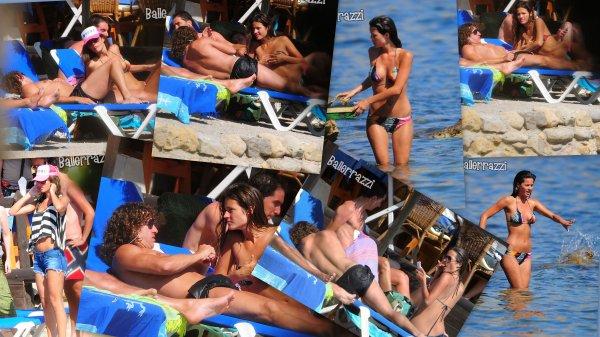 Football : Puyol & Malena - Ibiza