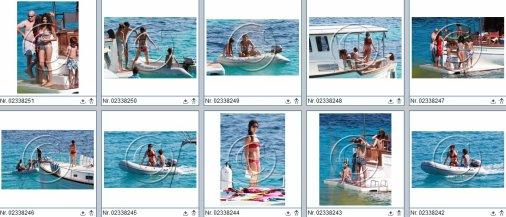 Football : Raul & Mamen en vacances.