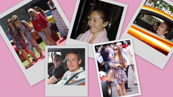 F1 : Couple Button - Jessica & Jenson au GoodWood Festival