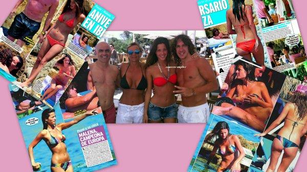 Football : Puyol & Malena - Ibiza dans la presse ibérique