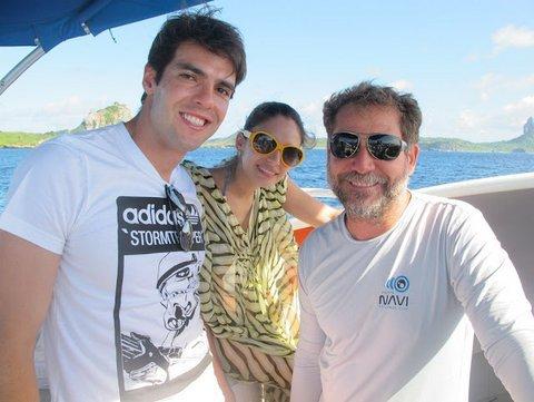 Football : Kaka & sa petite famille en croisière