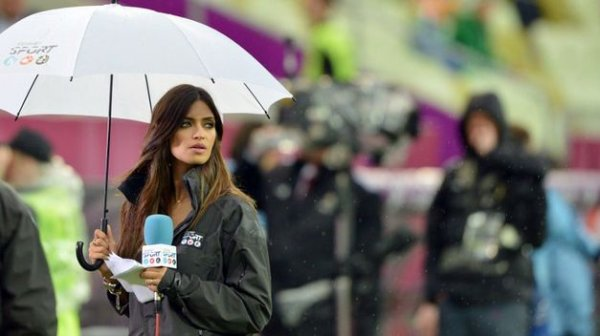 Football : Euro 12 Sara pour Espagne-Irlande