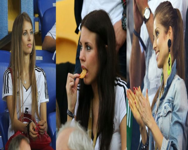 Football : Euro 12 Les jeunes wags allemandes