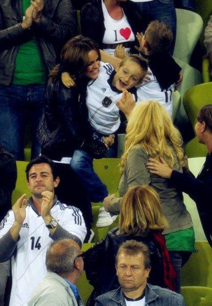 Football : Euro Luan & Noah Klose avec Sylwia