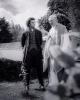 Aidan Turner sur le tournage de Poldark