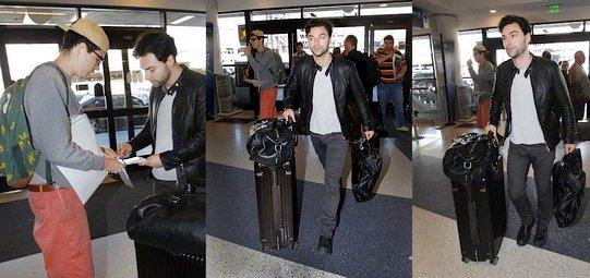 23 janvier 2015 : Aidan a été vu à l'aéroport de Los Angeles  25 janvier 2015 : Aidan présent au concert de Ed Sheeran.