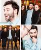 26 février 2015 : Le Cast Poldark - BBC à la Première de Poldark au Plaza du cinéma de Truro / Interview BBC