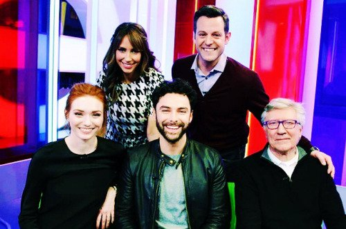 4 mars 2015 : Aidan au 'BBC - The One Show'
