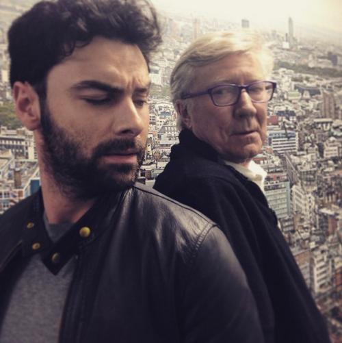 4 mars 2015 : Aidan en compagnie de Robin Ellis.