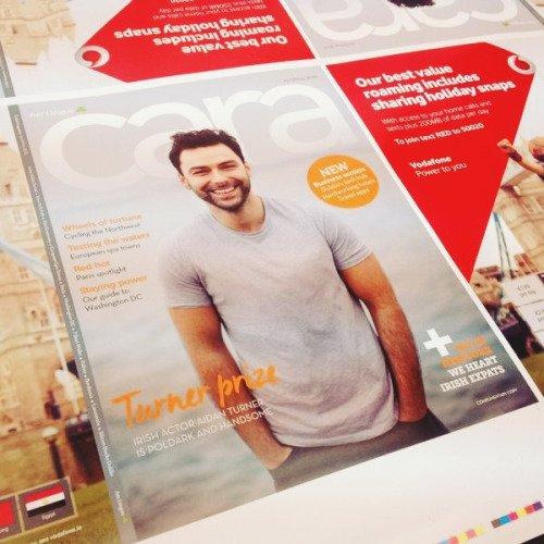 Aidan sera en couverture du magazine CARAMagazine prévu pour le 1er avril 2015 !