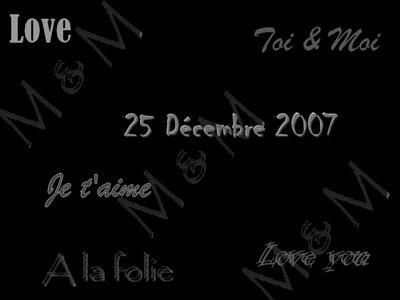 25 Décembre 2007,, une Histoire,, La Notre