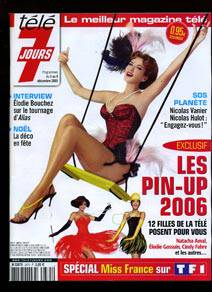 Calendrier Pin Up.Calendrier 2006 Des Pin Up De La Tele Tele 7 Jours Miss