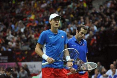 Coupe Davis - Les Tchèques remportent le double !