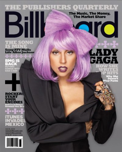 Lady Gaga en 1er page de magazine