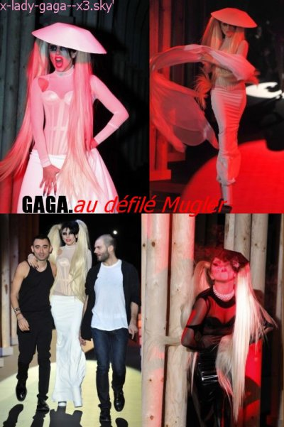 Gaga à Paris