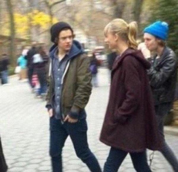Harry Taylor Perri et Lux dans Central Parc.Le 3 decembre 2012