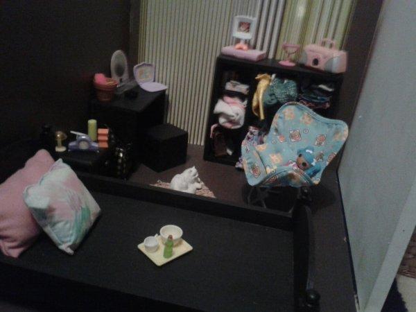 La chambre de ma pullip