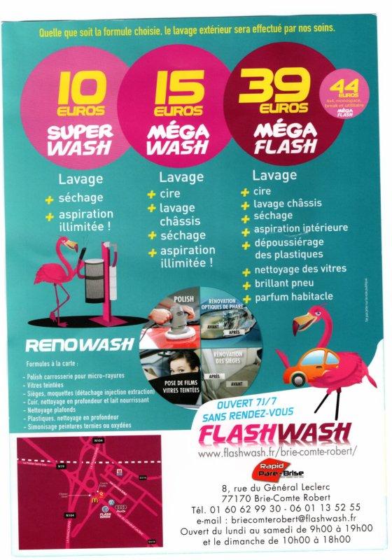 flashwash a brie