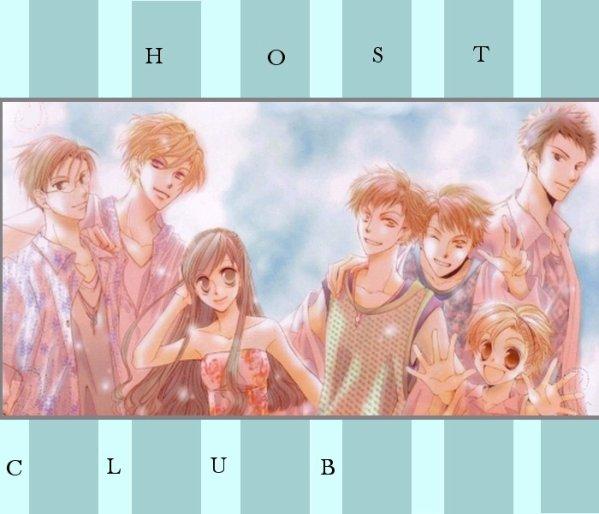 Ouran high school host club Super bon manga ♥