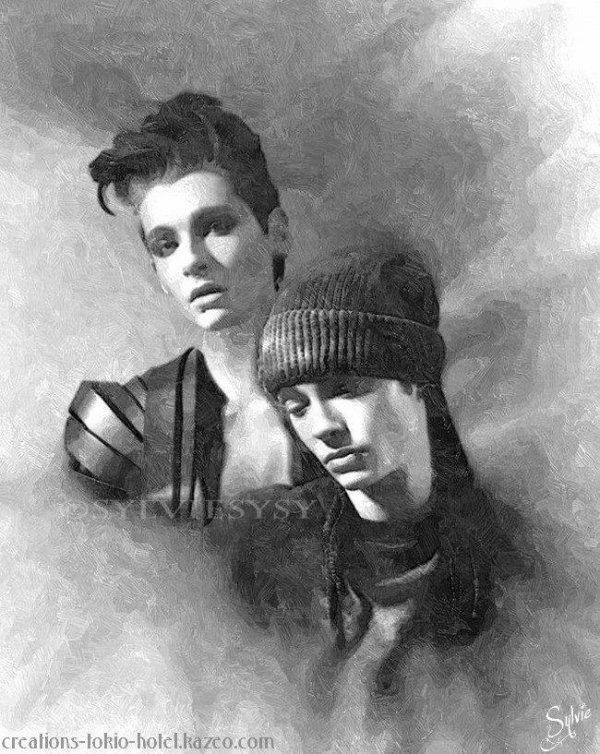 (908)Fan art de Bill et Tom