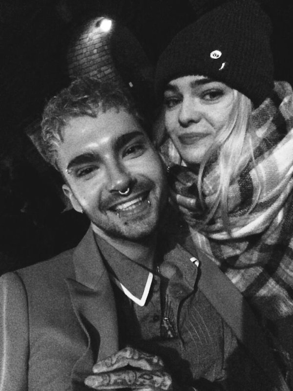 Photos-Bill et une fan, Copenhague, Danemark-2.02.2017