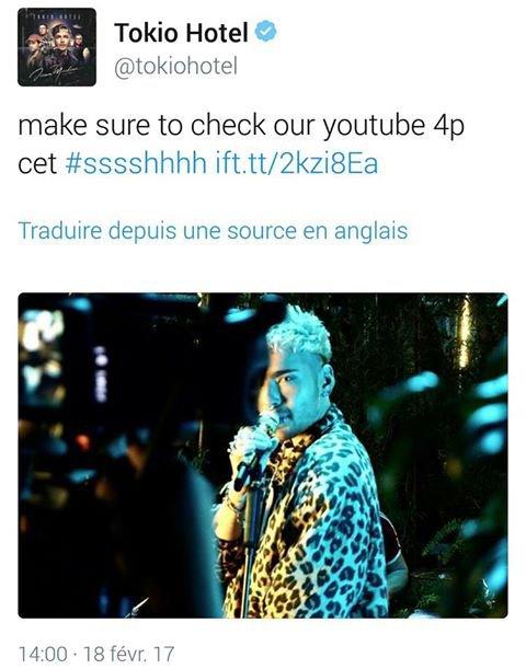 Twitter de Tokio Hotel
