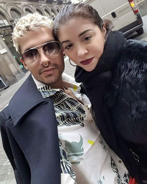 Photo-Bill et une fan, Milan-22.02.2017