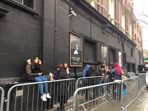 Premiére Dream Machine Londres (Koko - 12.03.2017).