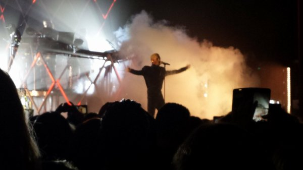 Photo du dream machine tour à Bruxelle