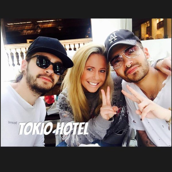 Nouvelle photo de Bill et Tom (14.04.2017)