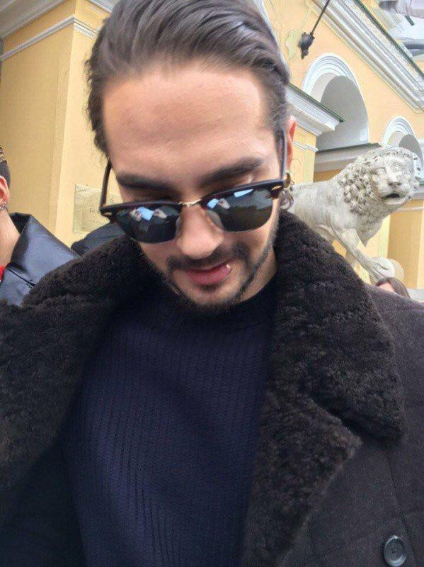 Tom à Saint-Pétersbourg