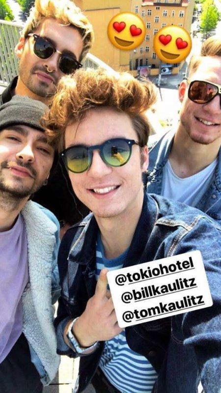 Photos-Bill, Tom et Heiko et Roman Lochmann, Berlin-11.05.2017