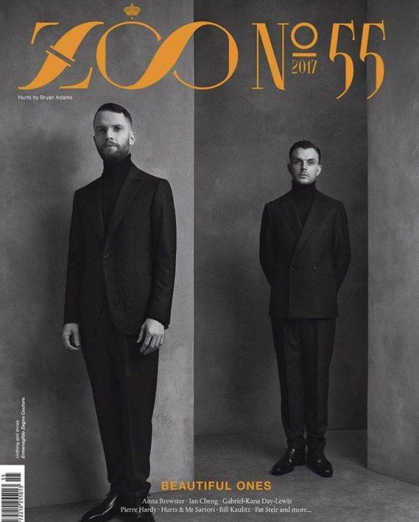 Bill fera partie du prochain numéro de Zoo Magazine, en vente dans deux semaines en Allemagne.