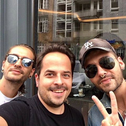Photo-Bill et Tom, Berlin-27.06.2017