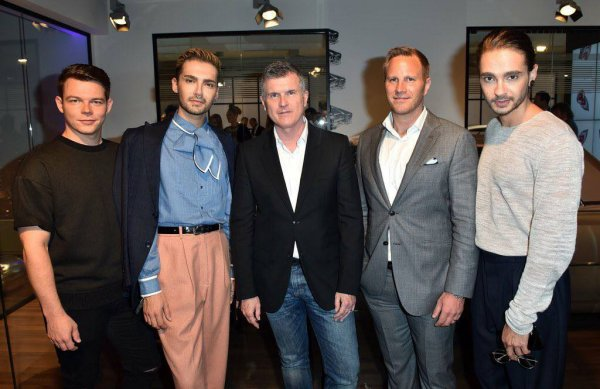 Photos-Bill, Tom et Georg, Cadillac House Opening, Munich-13.07.3017 suite 2
